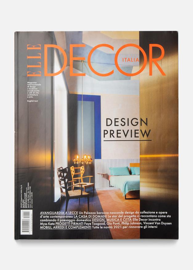 Elle Decor Aprile 2021 - Cover