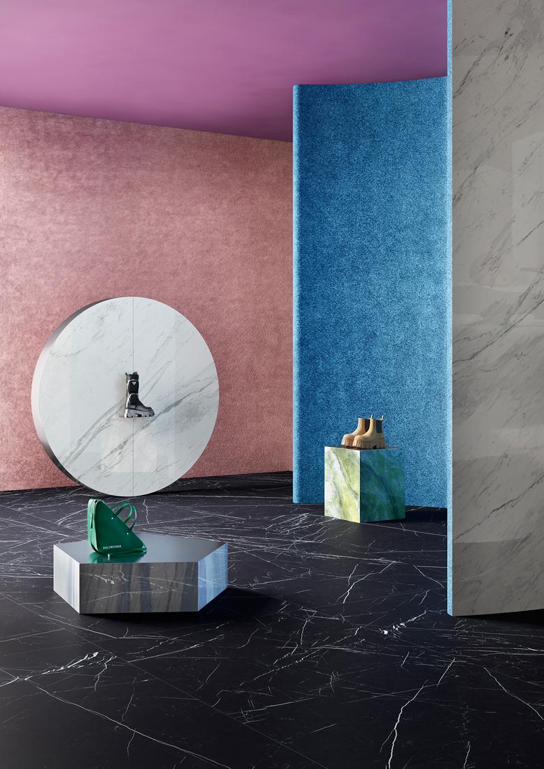 Terzo Piano art direction for Graniti Fiandre // Contract space