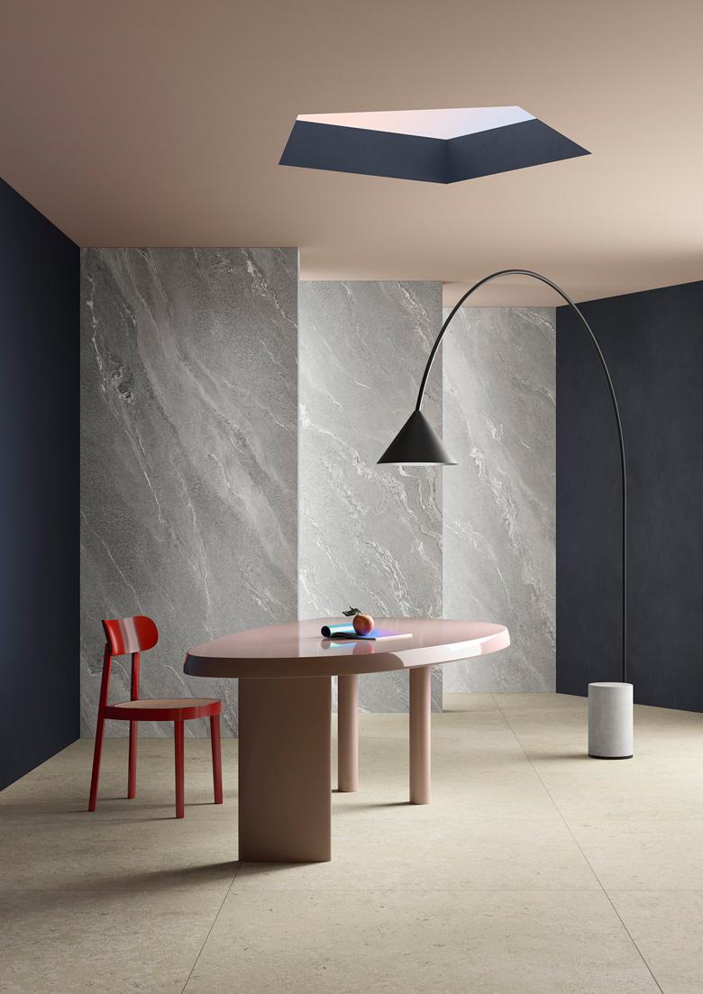 Terzo Piano art direction for Graniti Fiandre // Dining room