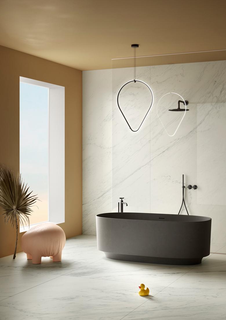 Terzo Piano art direction for Graniti Fiandre // Bathroom